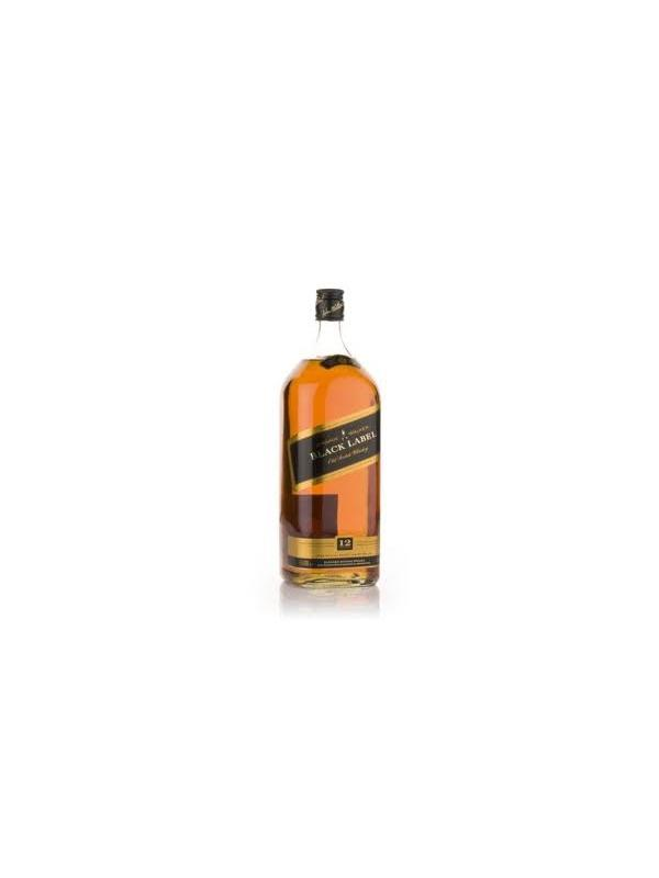 JOHNNIE WALKER BLACK LABEL 1.5 L. - Scotch Whisky