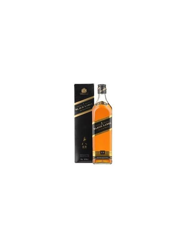 JOHNNIE WALKER BLACK LABEL 12 AÑOS 1 L. - Scotch Whisky