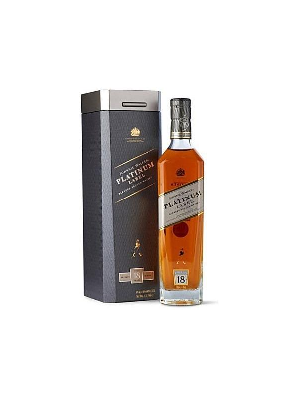 JOHNNY WALKER PLATINUM 18 AÑOS 0.70 L. - Scotch Whisky