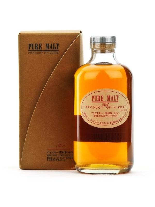NIKKA PURE MALT RED 0.50 L. - Whisky de Japón