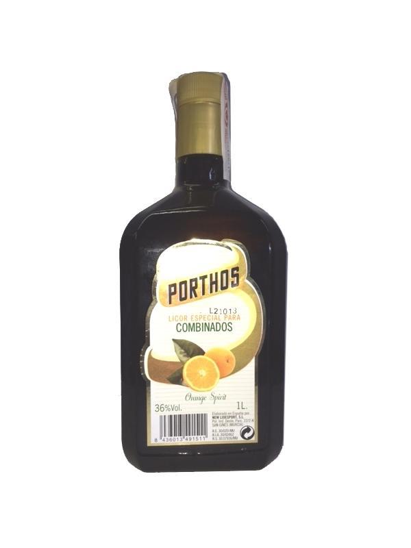LICOR TRIPLE SECO PORTHOS 1 L. - Licor de Naranja