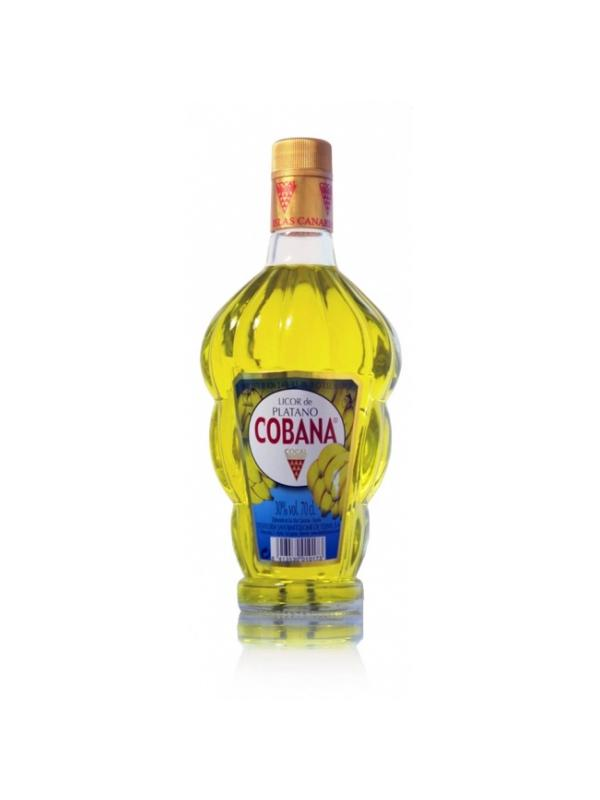 LICOR DE PLATANO COBANA -CANARIAS- - Licor