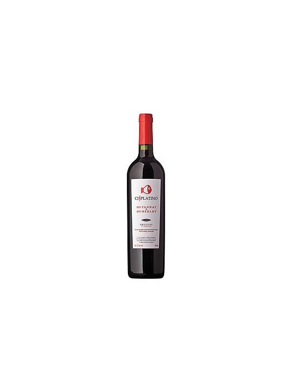 PISANO-CISPLATINO-TANNAT&MERLOT - Vino de Uruguay