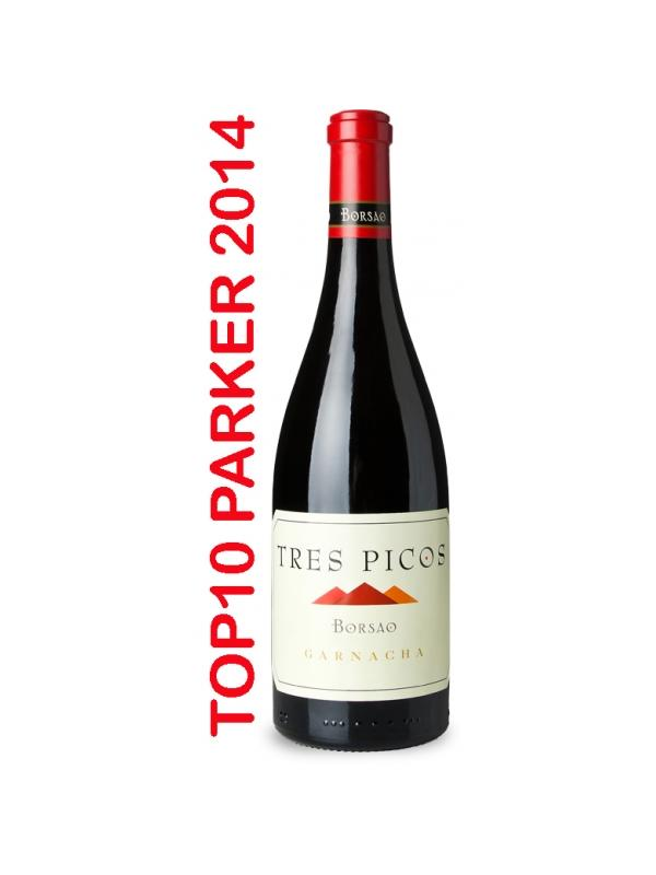 BORSAO TRES PICOS TINTO GARNACHA - D.O. Campo de BorjaParker Best of 2014: Greatest Value Wines of the Year  Ver vídeo de cata