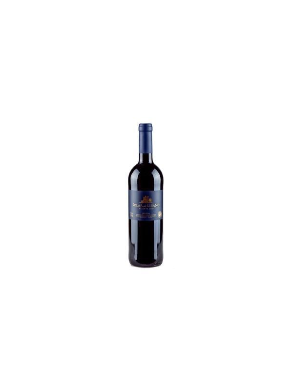 SOLAR DEL LIBANO RESERVA 2004 - D.O. Rioja TintoP. Parker: 90  Ver video de cata