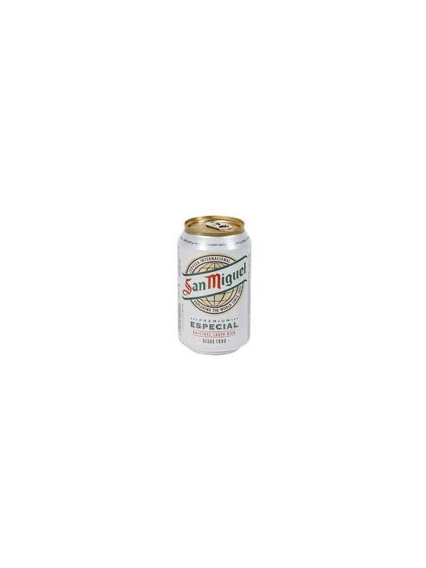 CERVEZA SAN MIGUEL LATA 0.33 L. - Cerveza española