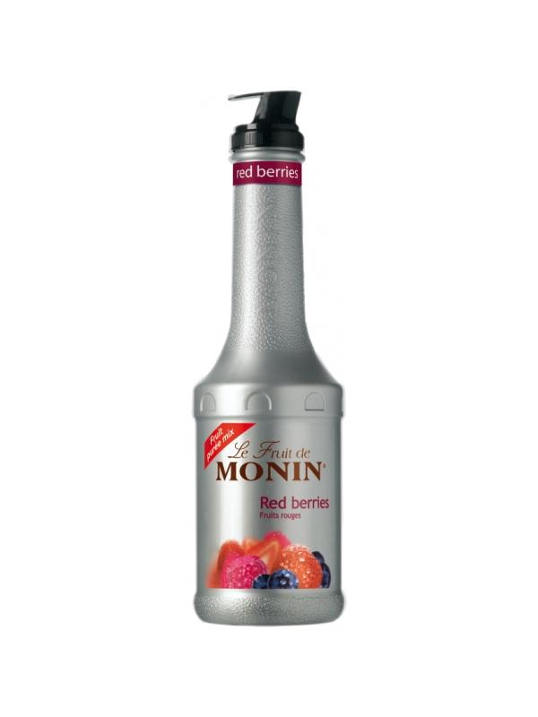 MONIN PUREE DE FRUTOS ROJOS 1L.