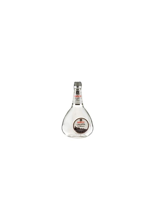 GRAPPA LA BIANCA BARBERO 0,70 L. - Grappa Italiana