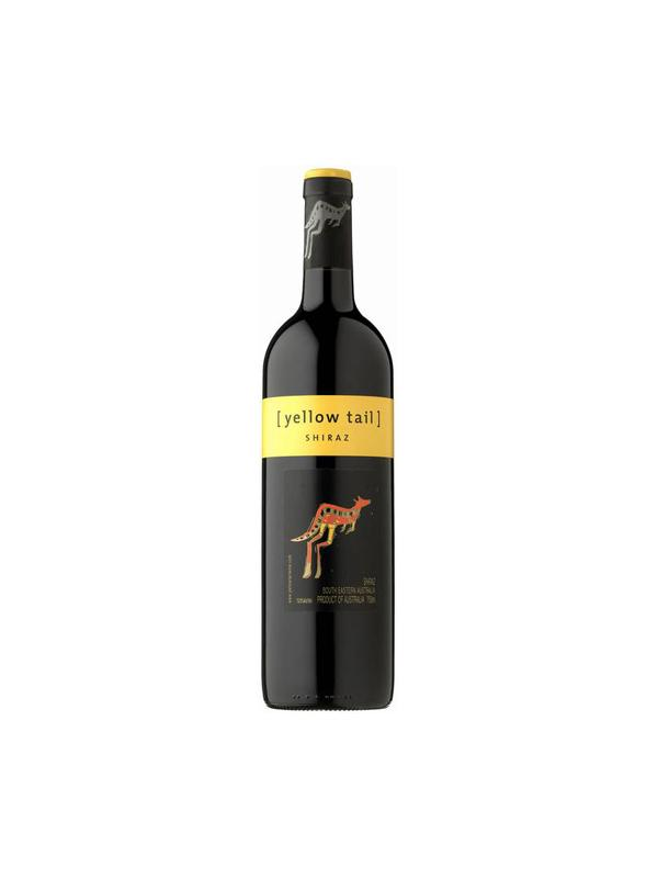 YELLOW TAIL SHIRAZ - Vino tinto roble: D.O. South Australia
