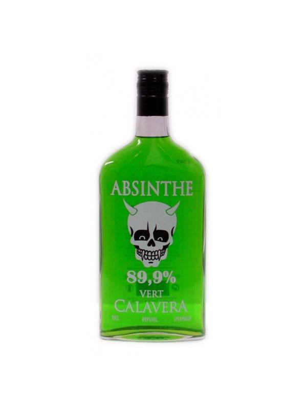 ABSINTHE 89.9º VERDE CALAVERA 0,70 L.