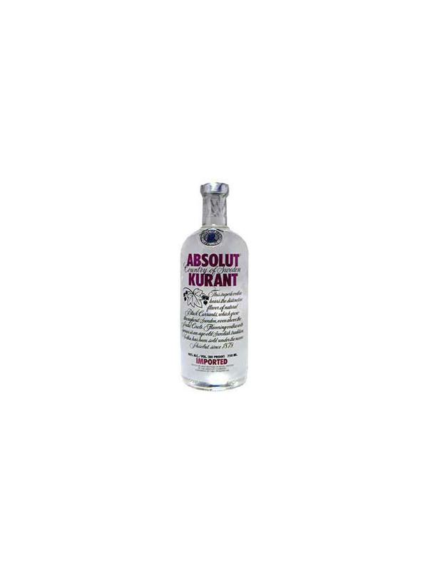 VODKA ABSOLUT KURANT 1 L.