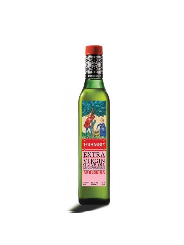 ACEITE LA RAMBLA ARBEQUINA 0.50L. - Aceite de Oliva