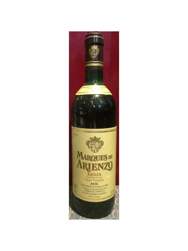 MARQUES DE ARIENZO GRAN RESERVA 1976 - D.O. Rioja Tinto