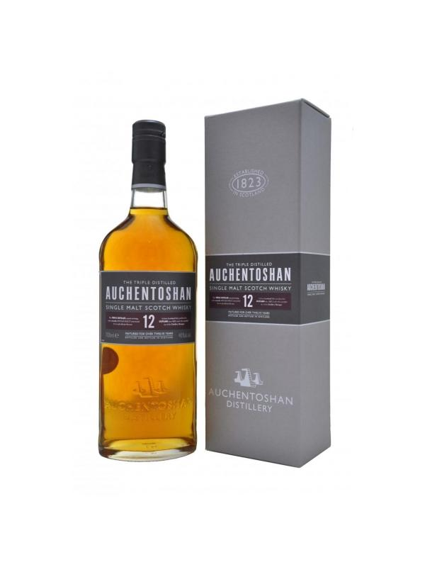 AUCHENTOSHAN SINGLE MALT 12 AÑOS 0.70L. - Malt Whisky
