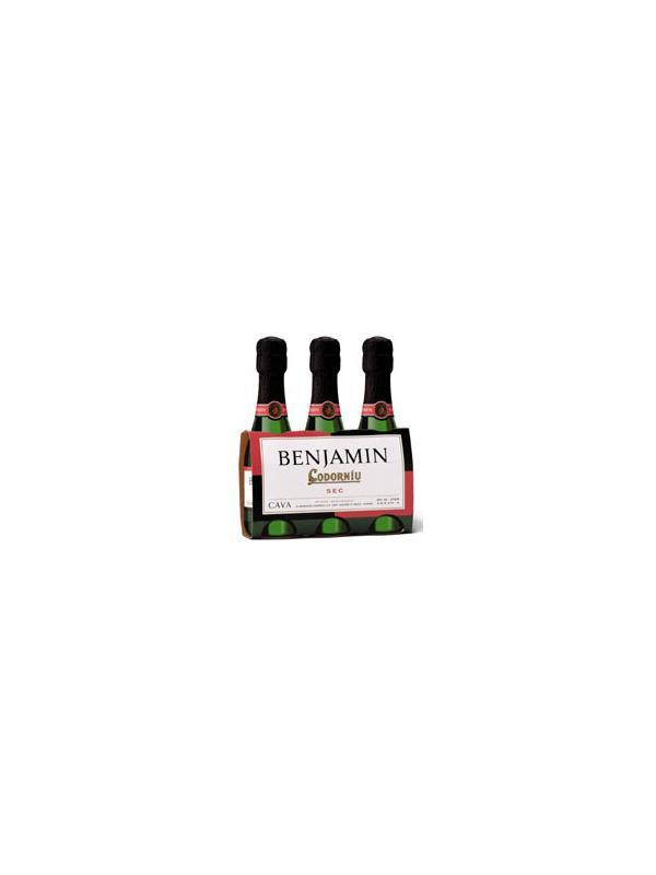 CODORNIU BENJAMIN SEC (3 UNIDADES) - D.O. Cava (3 Botellas)