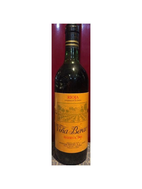 VIÑA BERCEO RESERVA 1982 - D.O. Rioja Tinto