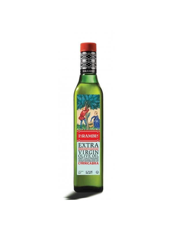 ACEITE LA RAMBLA CORNICABRA 0.50L. - Aceite de Oliva