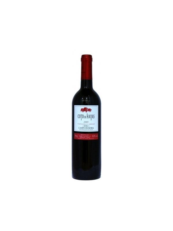 COTO DE HAYAS ROBLE - Vino tinto semi-crianza: D.O. Campo de Borja