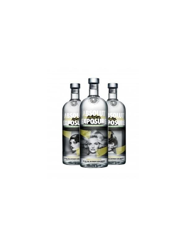 VODKA ABSOLUT EXPOSURE 1 L. - Vodka