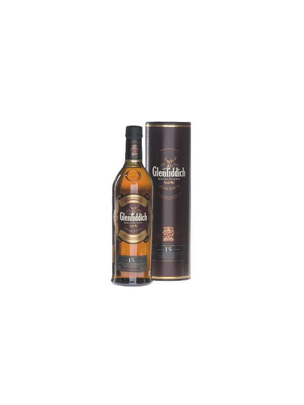 GLENFIDDICH 15 AÑOS 0,70 L. - Malt Whisky