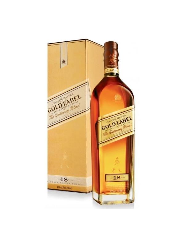 JOHNNIE WALKER GOLD LABEL 18 AÑOS 0,70 L.