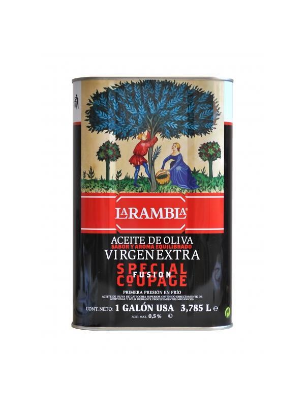 ACEITE LA RAMBLA SPECIAL COUPAGE 3.785L. - Aceite de Oliva