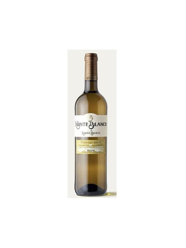 MONTE BLANCO VERDEJO 2010 DE R.BILBAO - D.O. Rueda - Nariz de Oro 2011 1er vino blanco  Ver video de cata