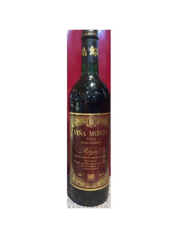 VIÑA MONTY GRAN RESERVA 1985 - D.O. Rioja Tinto