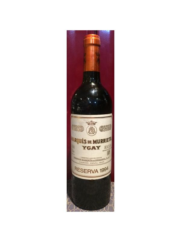 MARQUES DE MURRIETA RESERVA 1994 - D.O. Rioja Tinto