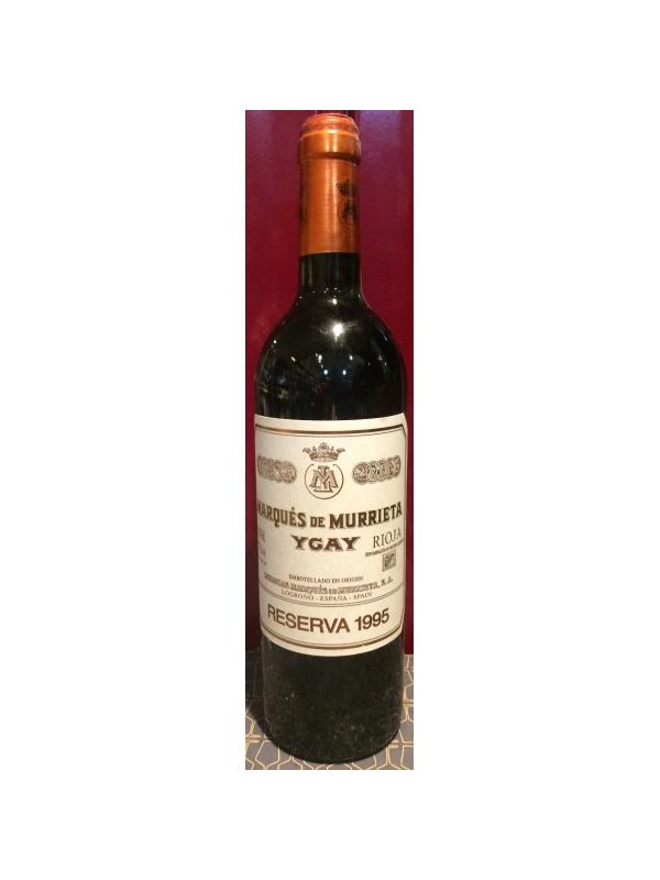 MARQUES DE MURRIETA RESERVA 1996 - D.O. Rioja Tinto