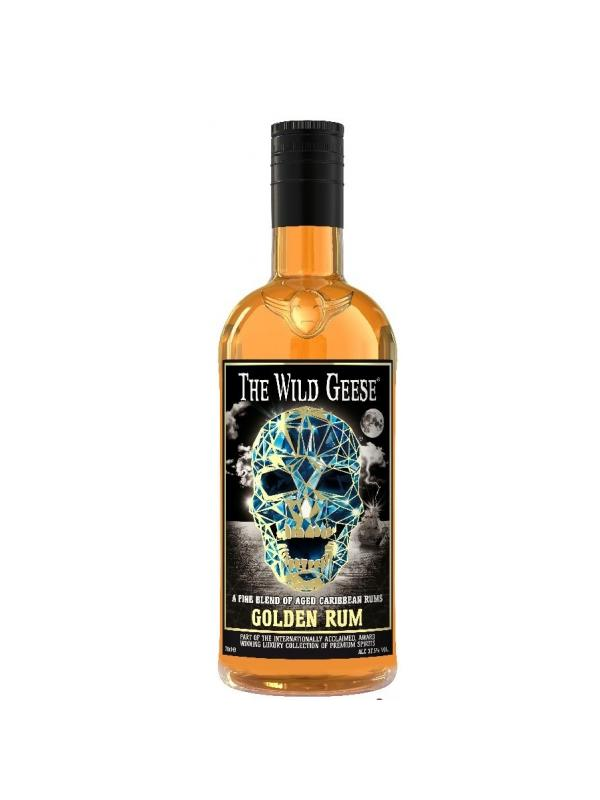 THE WILD GEESE GOLDEN RUM 0.70 L. - Ron del Caribe