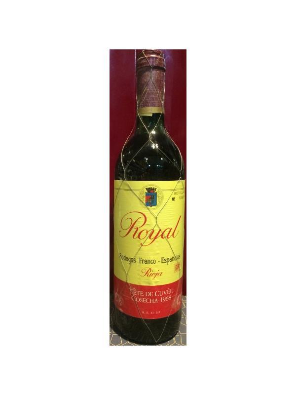 ROYAL TETE DE CUVEE 1968 - D.O. Rioja Tinto