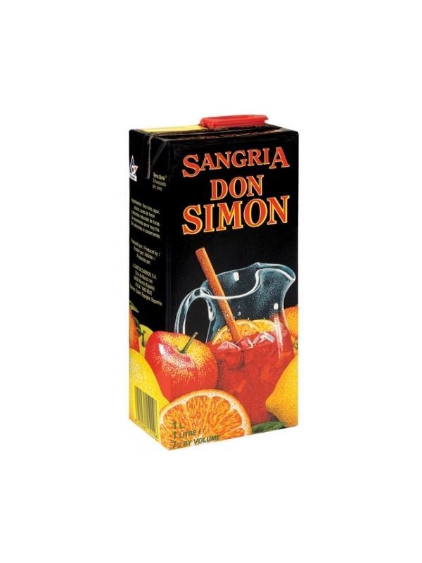 SANGRIA DON SIMON BRIK 1 L. - Sangria
