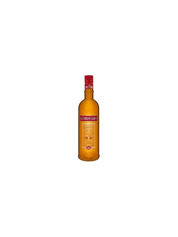 SOBIESKI VODKA & CARAMELO 0,70 L. - Licor