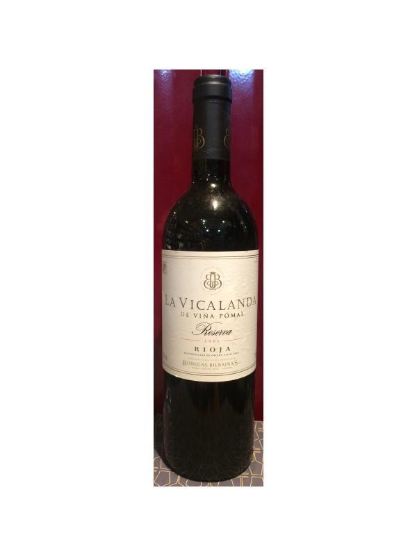 LA VICALANDA RESERVA 1991 - D.O. Rioja Tinto