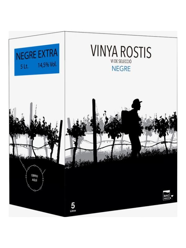 VINYA ROSTIS NEGRE EXTRA 14º BIB 5L. - Cataluña sin D.O.