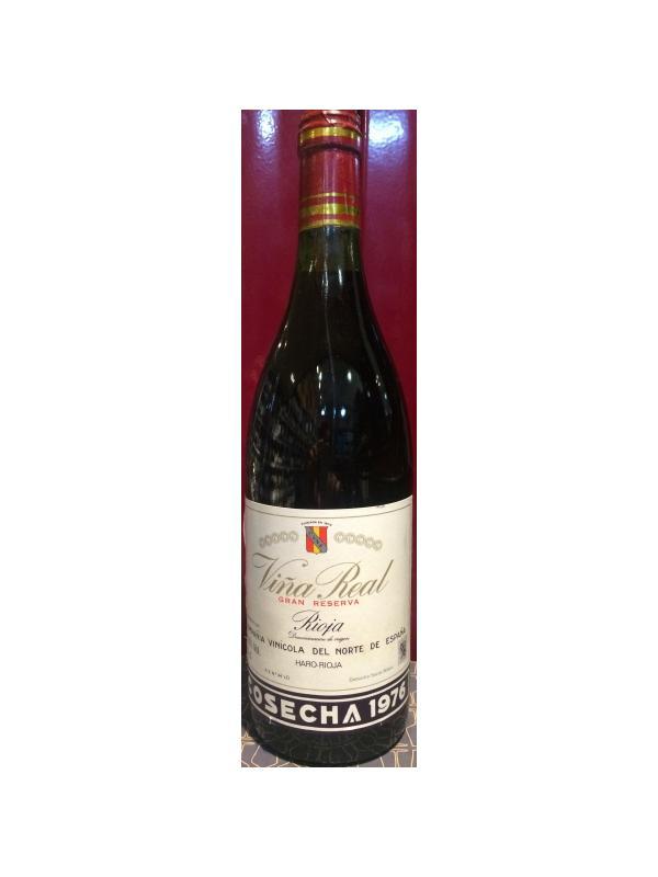 CUNE VIÑA REAL ORO GRAN RESERVA 1976 - D.O. Rioja Tinto