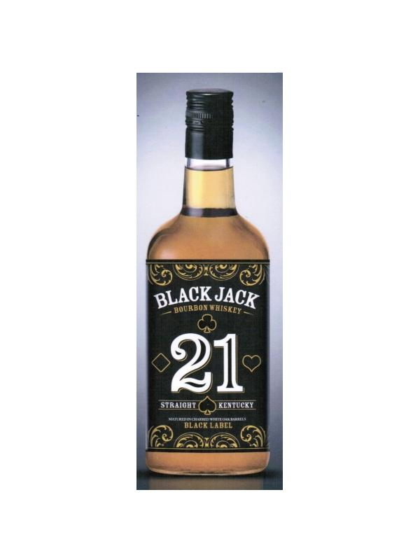 BOURBON BLACK JACK 0.70 L. - Kentucky Whisky