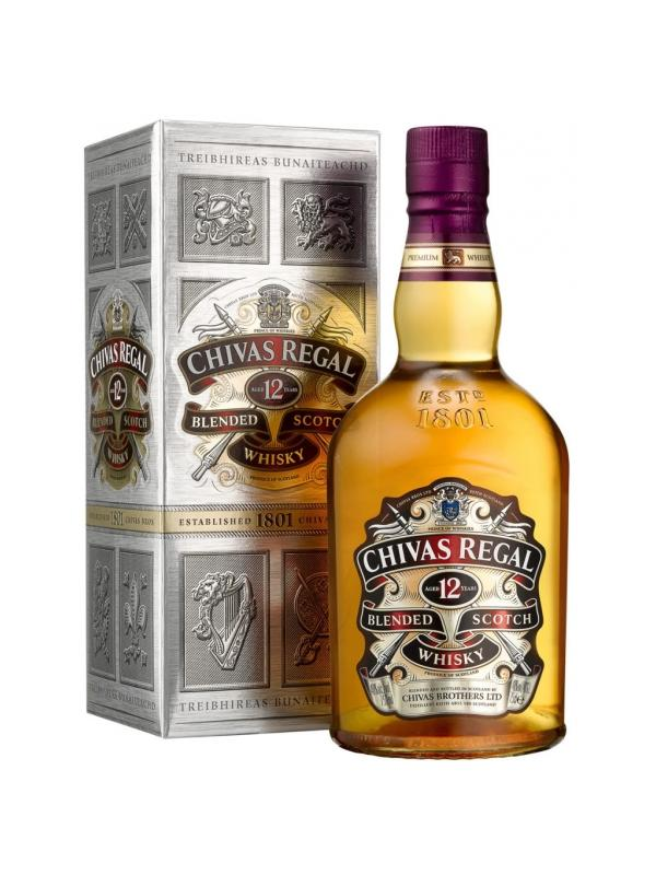 CHIVAS REGAL 12 AÑOS 1 L. - Scotch Whisky