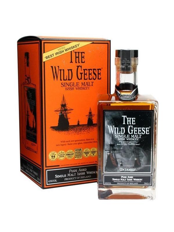 THE WILD GEESE SINGLE MALT IRISH WHISKEY 0.70 L. - Malt Irish Whisky