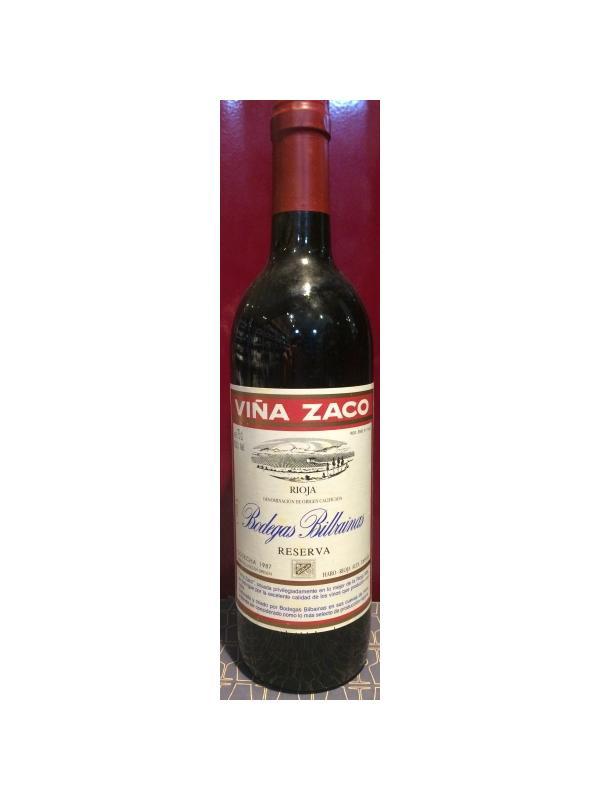 VIÑA ZACO RESERVA 1987 - D.O. Rioja Tinto