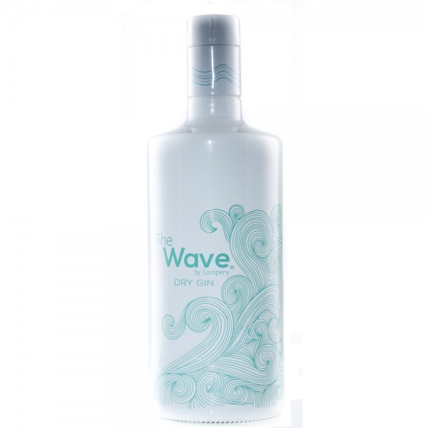 GIN THE WAVE DRY 0.70L.