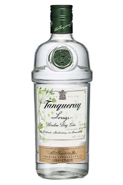 GIN TANQUERAY LOVAGE 1L. - Ginebra Inglesa