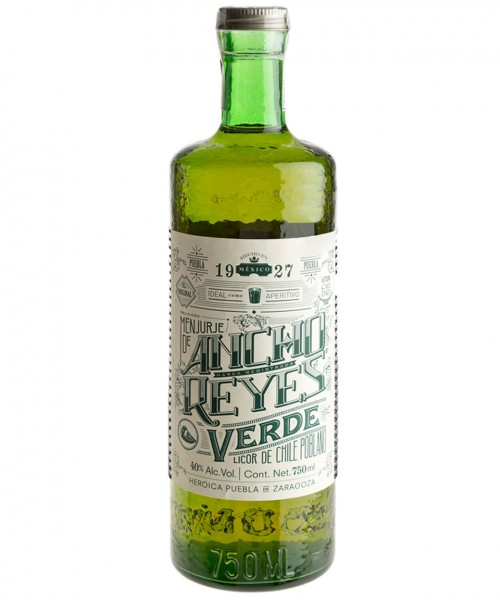 ANCHO REYES VERDE CHILE POBLANO 0.70 L - Licor