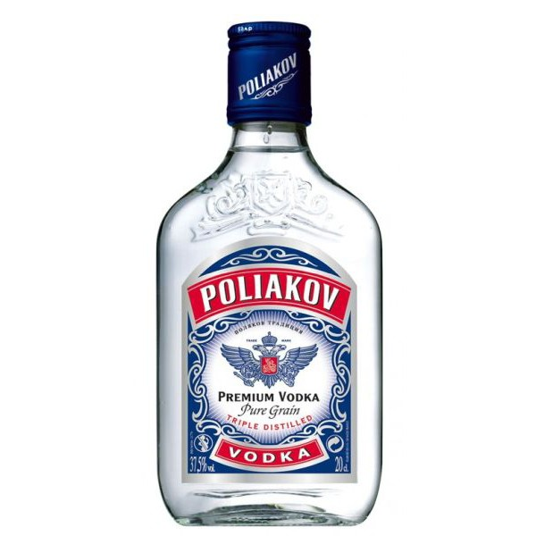 PETACA VODKA POLIAKOV 0.20 L. - Vodka