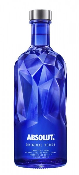 VODKA ABSOLUT FACET 0.70 L.