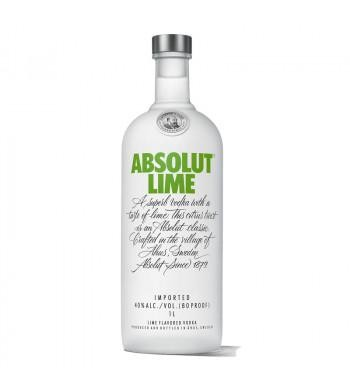 VODKA ABSOLUT LIME 1L. - Vodka de Suecia