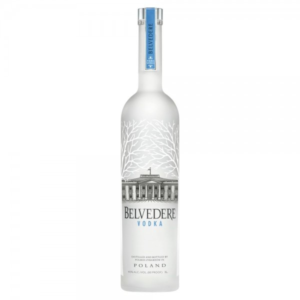 VODKA BELVEDERE 3 L.
