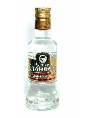 MINIATURA VODKA RUSSIAN STANDARD GOLD 0,05 L. - Vodka de Rusia