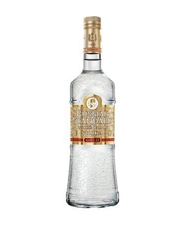 VODKA RUSSIAN STANDARD GOLD 0.50L - Vodka de Rusia